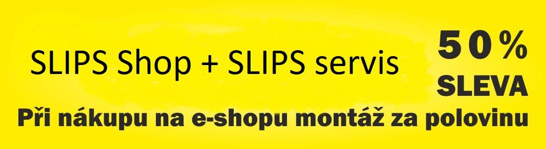Akce - zboží koupené přes e-shop = sleva 50%